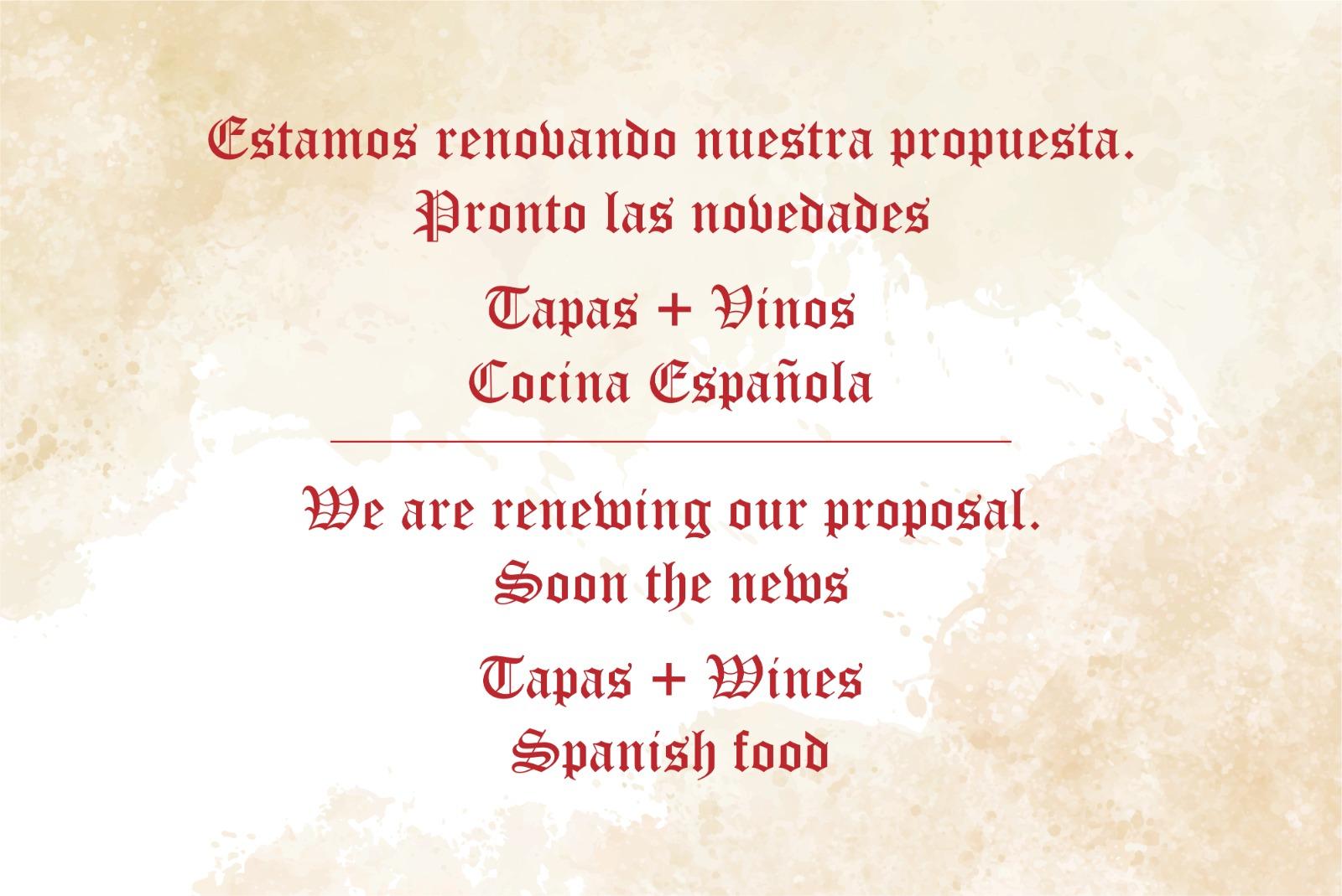 Wine menu for el meson de cervantes malaga for Table 52 wine list